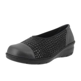 Louhans noir chaussure thérapeutique ballerine printemps-été confort